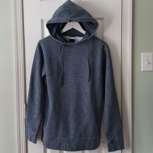 KR3W Heathered Blue Hoodie Size Small